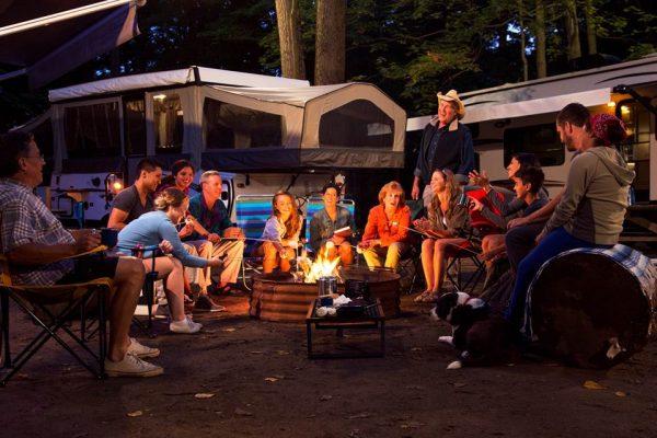 Coolbox-Camping 1530 - Terrain de Camping - Destination Montérégie - Tourisme Montérégie - Plein air Montérégie